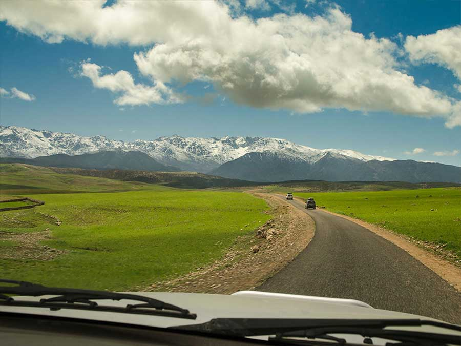 Marrakech day trip to the Atlas Mountains