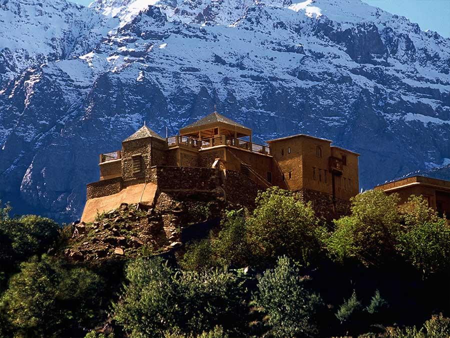 Kasbah du Toubkal Atlas Mountains day tour