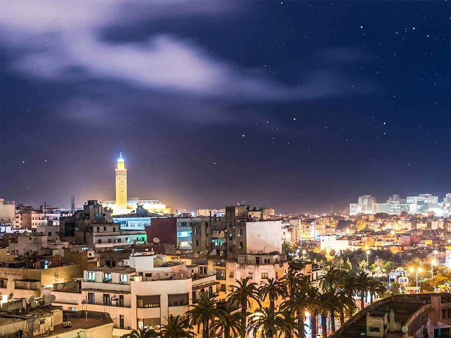 Marrakech to Casablanca trip