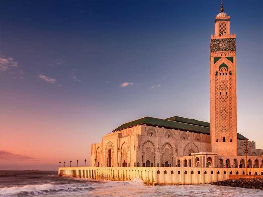 Visit Hassan II Mosque Casablanca from Marrakech