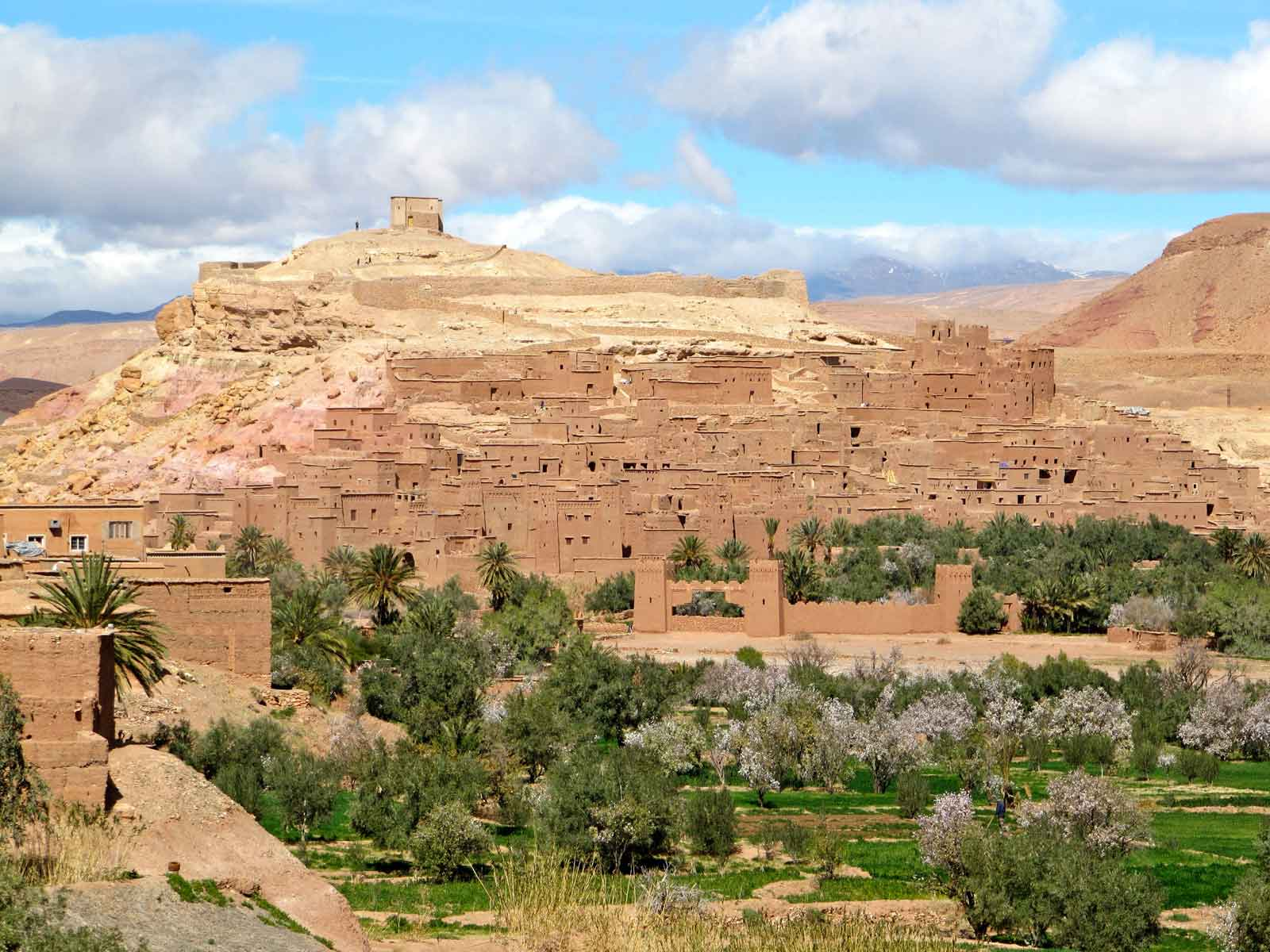 Marrakech day tour to ouarzazate