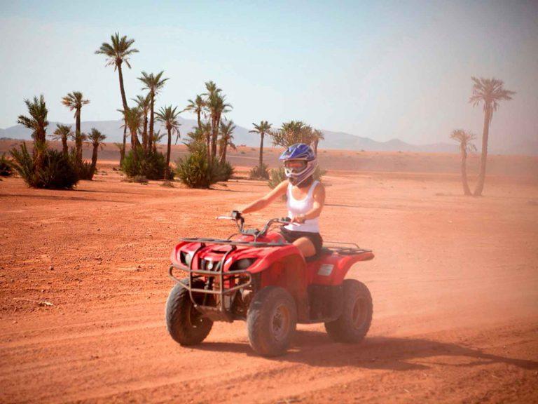 Marrakech quad bike tour in the palmeraie