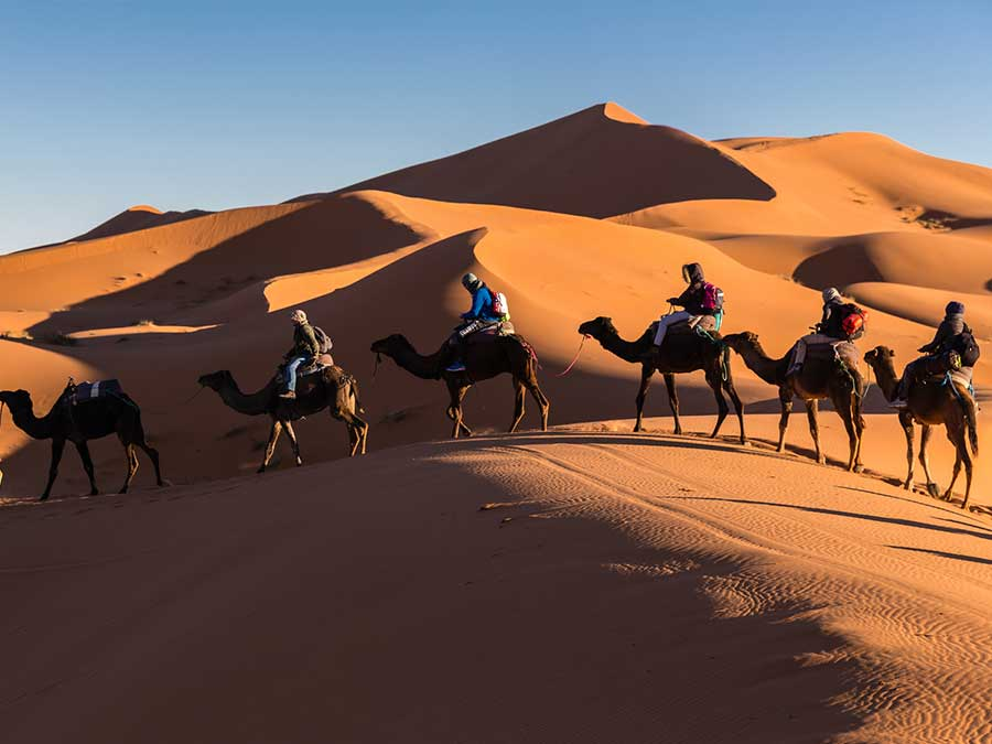 Marrakech to Erg Chebbi 3 days group tour
