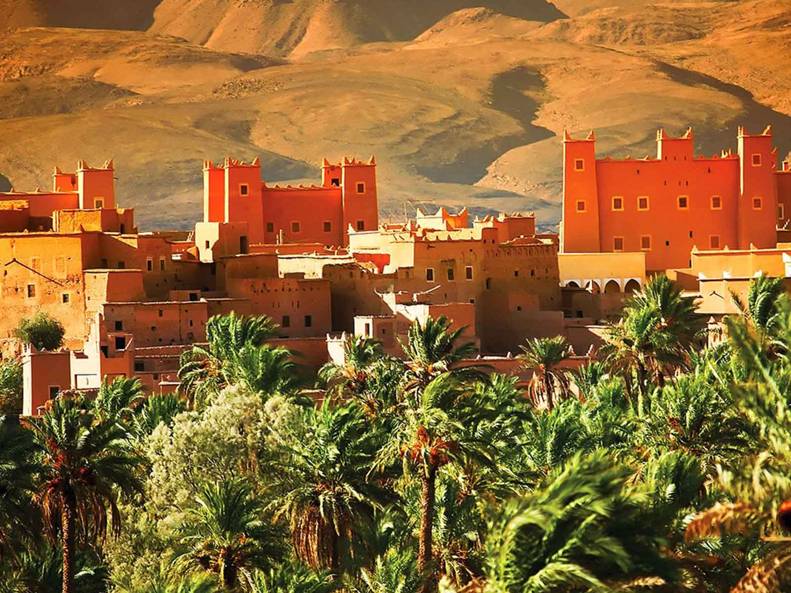kasbah sahara desrt tour the best place to take a rest in sud of morocco