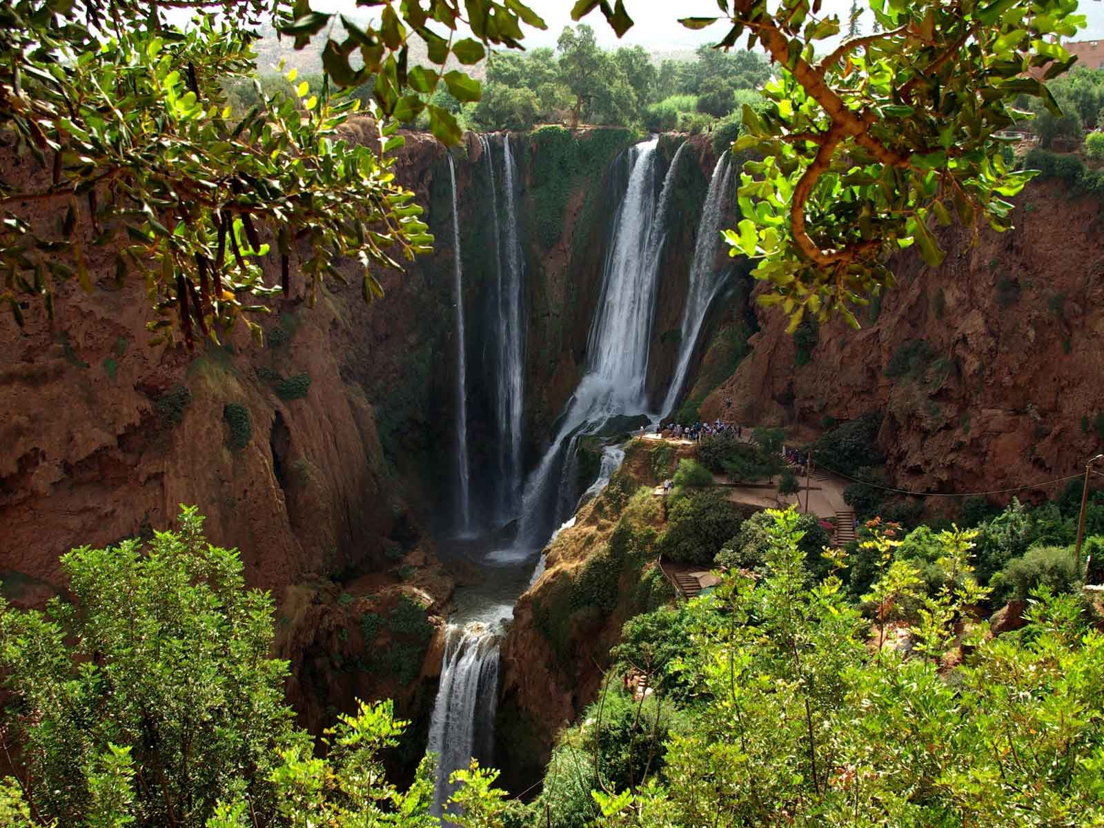 Morocco day trip excursion to Ouzoud waterfalls from Marrakech
