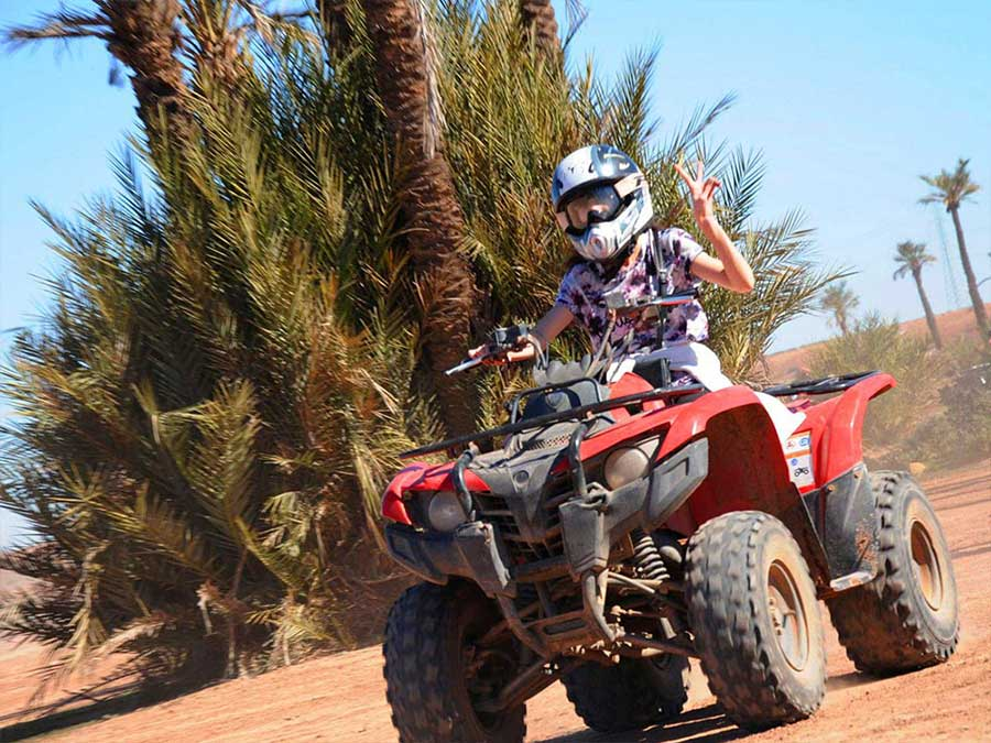 Private quad biking half day tour Marrakech