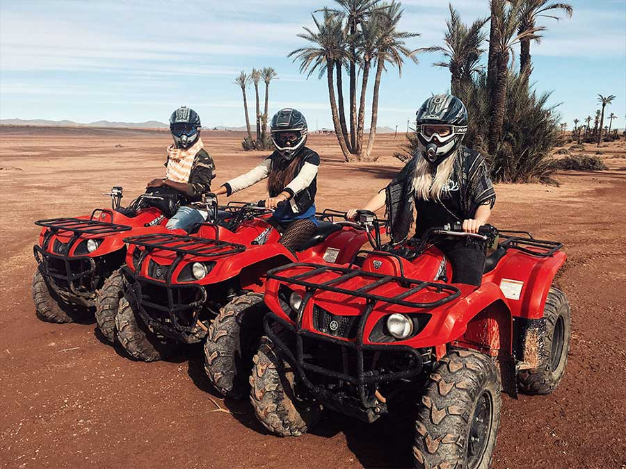 Marrakech quad biking hire
