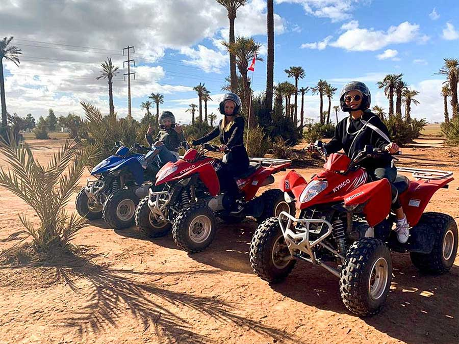Private Marrakech quad biking