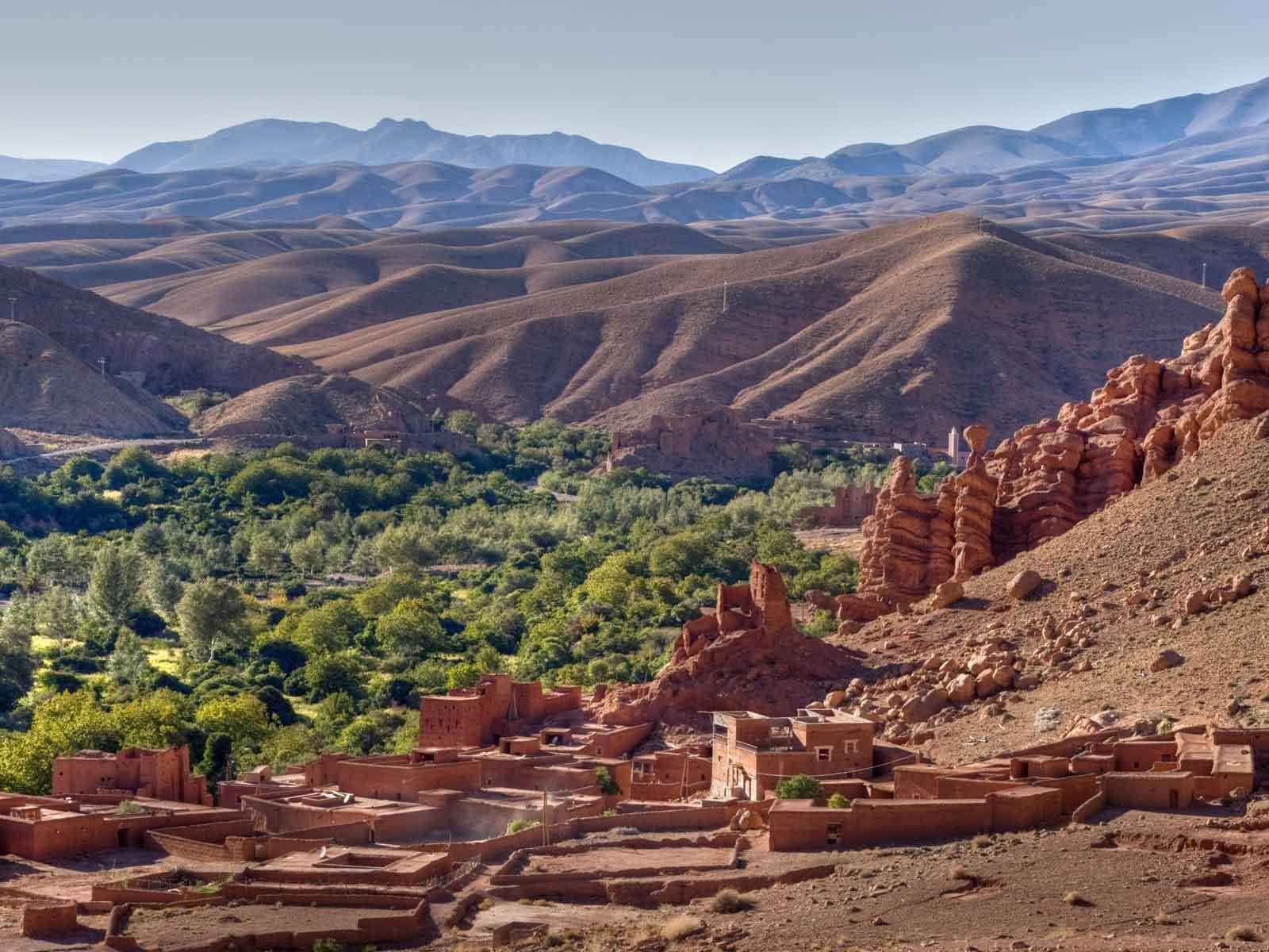 2 day Sahara desert trip from Marrakech