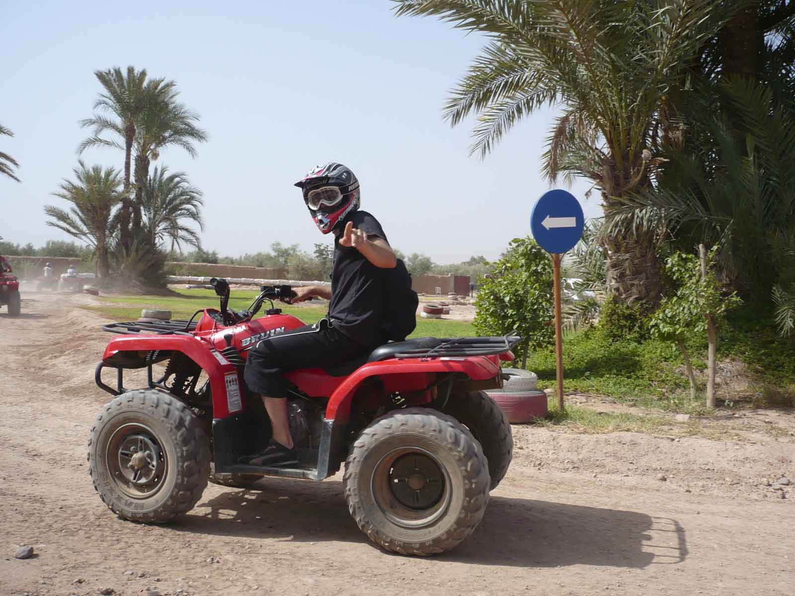 Quad bike tour Marrakech