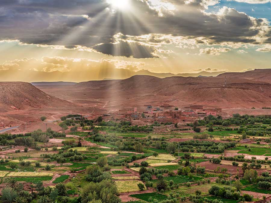 group 3 days desert tour from Marrakech to Fes