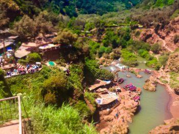 marrakech excursion to ouzoud waterfalls