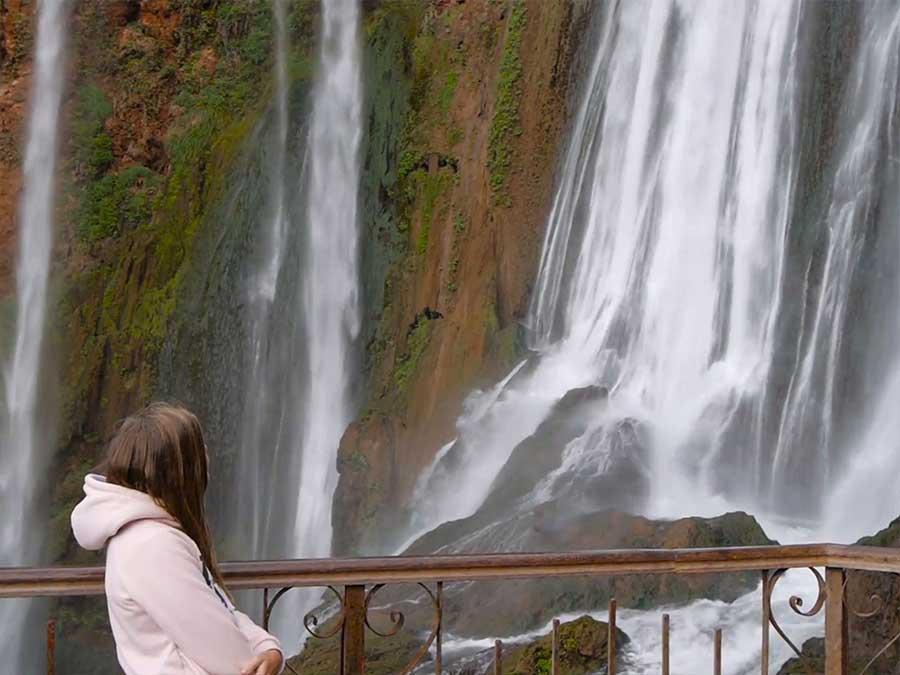 day tour to Ouzoud cascades