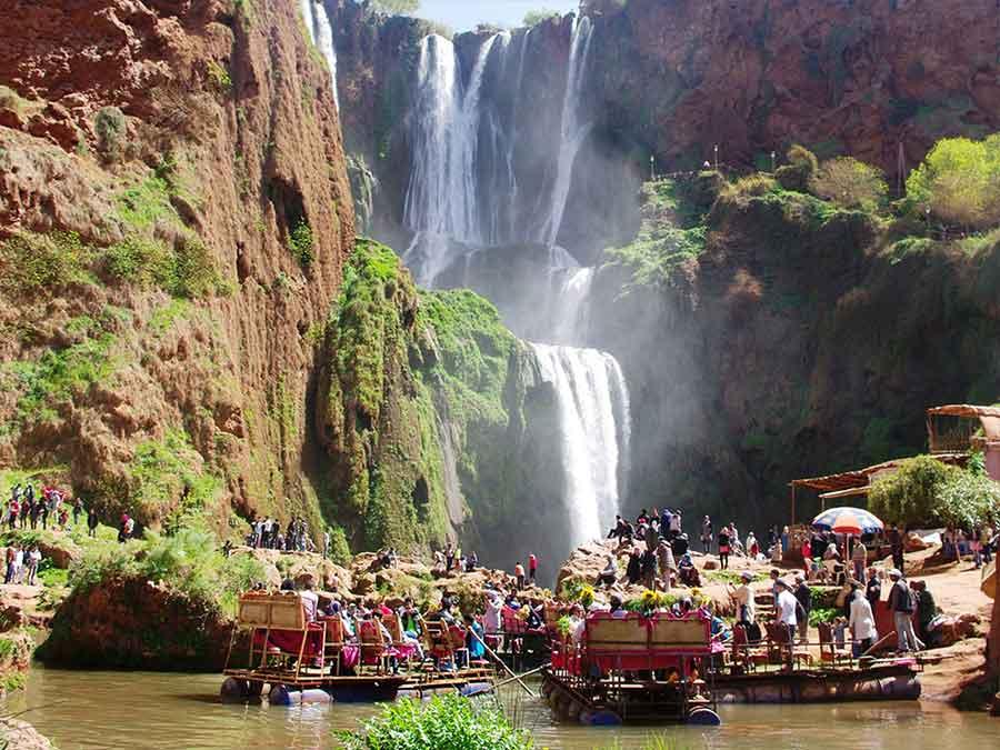 Ouzoud casacades day excursion from Marrakech