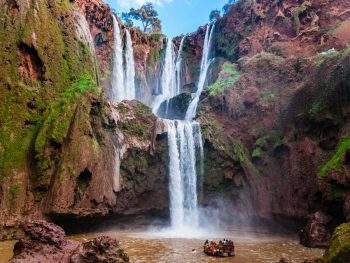 Marrakech to Ouzoud waterfalls private day trip