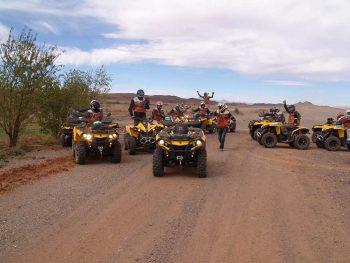 Camel trek and quad bike experience in Marrakech desert