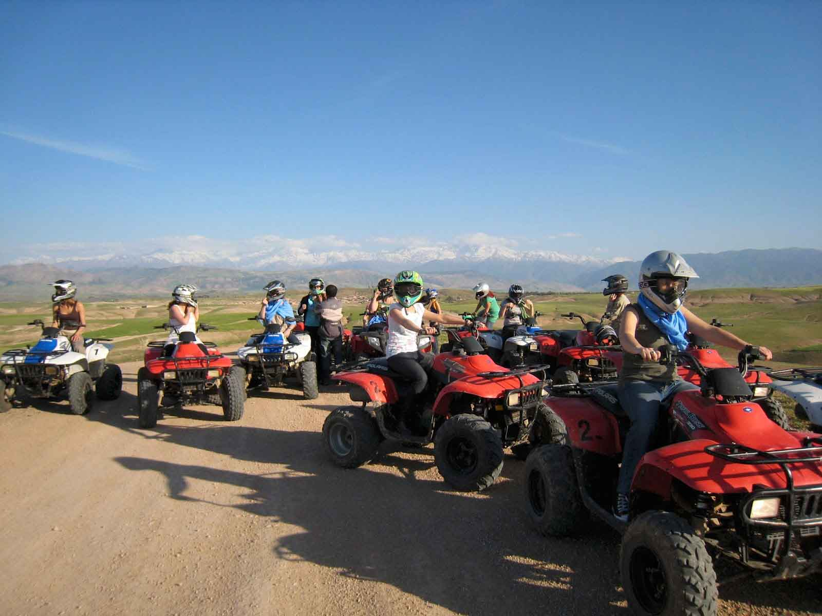 Marrakech quad tour